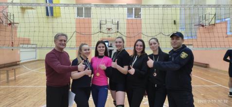 В ЛДУБЖД закінчилась Спартакіада 2019-2020 з волейболу