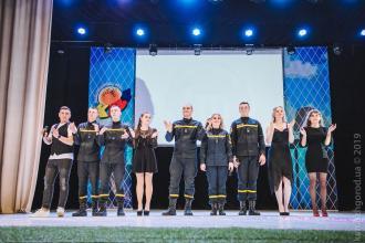 Новий склад команди «Гасимо цілодобово»  взяв участь у «Закарпатській лізі КВН»