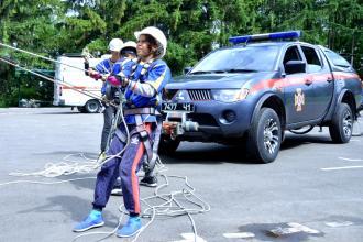 Другий день Всеукраїнського збору-змагання «Школа безпеки» добіг кінця