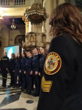 Хоровий колектив Львівського державного університету безпеки життєдіяльності  долучився до благодійної акції «Десь на сході»