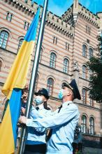 День прапора у Львівському державному університеті безпеки життєдіяльності