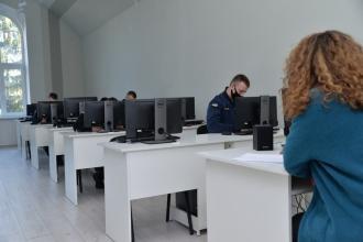 В Університеті відбувся І-й тур Всеукраїнської олімпіади зі спеціальності «Філологія (переклад з англійської мови)»