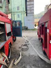 Курсанти Університету підвищують практичні навички з питань організації гасіння пожеж в будівлях елеваторів