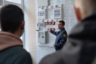 Протягом тижня у Львівському державному університеті безпеки життєдіяльності проведено низку практичних занять із здобувачами третього курсу заочної форми навчання Навчально-наукового інституту пожежної та техногенної безпеки