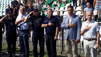 Голова ДСНС Микола Чечоткін відкрив Кубок України з пожежно-прикладного спорту