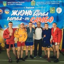 Курсанти Університету стали бронзовими призерами Чемпіонату ДСНС України з боротьби «Самбо»