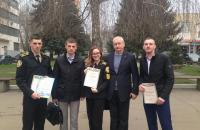Курсант 3-го курсу Львівського державного університету безпеки життєдіяльності здобув 3-тє місце  в ІІ етап Всеукраїнської студентської олімпіади з професійно-орієнтованої дисципліни ''Цивільний захист''.