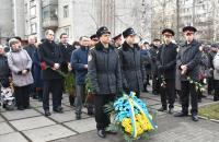 Курсанти Львівського державного університету безпеки життєдіяльності вшанували ліквідаторів наслідків аварії на ЧАЕС
