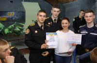 Рада курсантського та студентського самоврядування провела брейн-ринг, присвячений Дню пожежної охорони