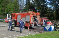 Практичне заняття на тему «Забір та нагнітання води з використанням насосного устаткування пожежних автоцистерн»