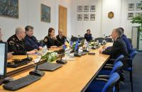 В рамках реалізації міжнародного проекту програми Erasmus+ відбулась робоча зустріча представників Естонської Академії Безпеки та ЛДУ БЖД