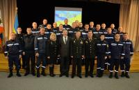 У Львівському державному університету безпеки життєдіяльності відбувся ІV етап патріотичної акції «Естафета поколінь»