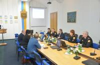 До навчального закладу із робочим візитом завітала ректор Естонської академії безпеки Катрі Райк