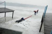 Відбулося практичне заняття із надання допомоги потопаючим у зимовий період