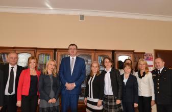 Делегація Університету взяла участь в Урочистій Інавгурації 2017-2018 року в Ярославі (Республіка Польща)