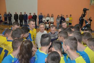 В Університеті стартував турнір з волейболу «Львівська зима»