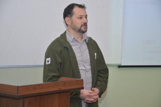 У Львівському державному університеті безпеки життєдіяльності відбулася зустріч з представниками WWF в Україні на тему «Як захистити Карпатські ліси, мандруючи горами»