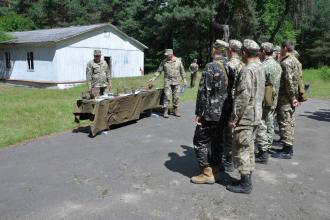 Кафедра військової підготовки Університету проводить комплексні практичні заняття з вивчення первинної військової підготовки