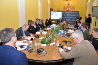 На базі Львівського державного університету безпеки життєдіяльності стартували міжнародні командно-штабні навчання