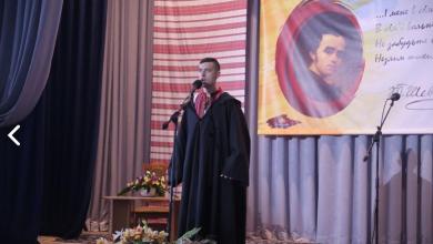 Слово Великого Кобзаря завжди з нами: Володимир Митко посів 2-ге місце на конкурсі художніх читань з нагоди 204-ї річниці від дня народження Великого Кобзаря